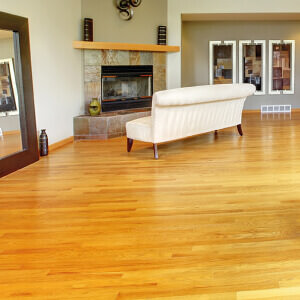 Wooden floor finishes
