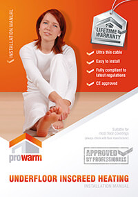 ProWarm™ Inscreed Heating Kits installation manual