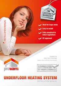 ProWarm™ Underfloor Heating Mats installation manual