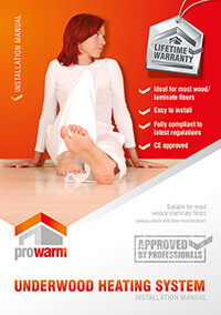ProWarm™ Underwood Heating Mats installation manual