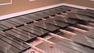 How to install Water Underfloor Heating using spreader plates