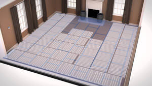 How to install HeatPak Dual Overlay Systems for carpet and vinyl floors